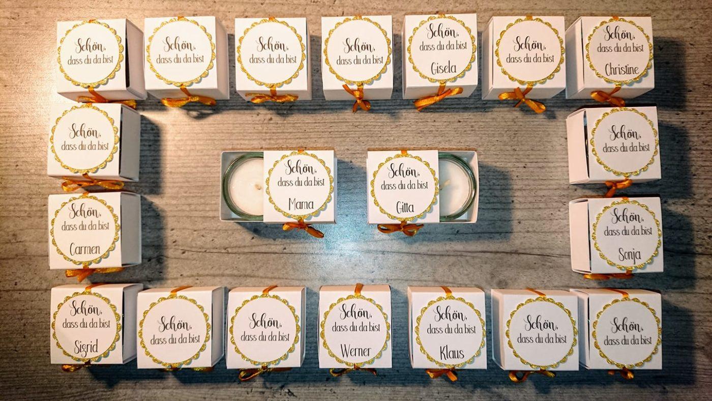 Gastgeschenk - Glückslicht- Mareve Design