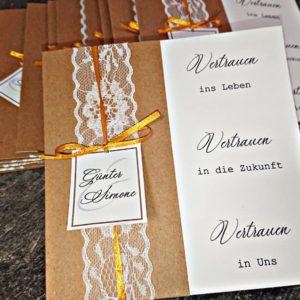 Einladungskarte - Mareve Design