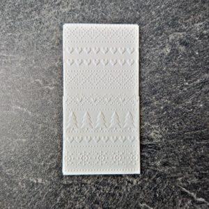 geprägtes Taschentuch - Mareve Design