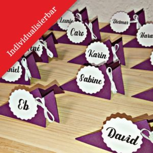 Namenskärtchen - Mareve Design