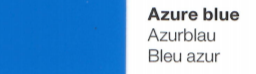 Vinylfolie Azurblau- Mareve Design
