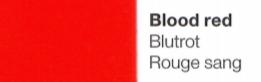 Vinylfolie Blutrot- Mareve Design