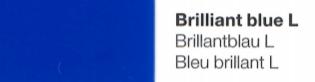 Vinylfolie Brilliantblau- Mareve Design