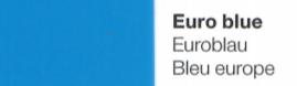 Vinylfolie Euroblau- Mareve Design