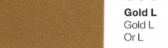 Vinylfolie Gold- Mareve Design