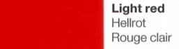 Vinylfolie Hellrot- Mareve Design