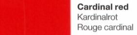 Vinylfolie Kardinalrot- Mareve Design