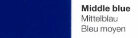 Vinylfolie Mittelblau- Mareve Design