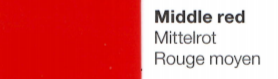 Vinylfolie Mittelrot- Mareve Design
