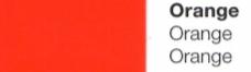Vinylfolie Orange- Mareve Design