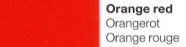 Vinylfolie Orangerot- Mareve Design