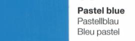 Vinylfolie Pastellblau- Mareve Design