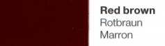 Vinylfolie Rotbraun- Mareve Design
