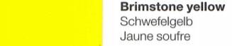 Vinylfolie Schwefelgelb- Mareve Design