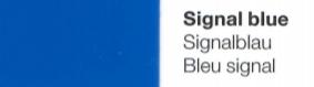Vinylfolie Signalblau- Mareve Design