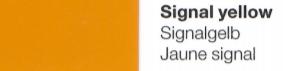Vinylfolie Signalgelb - Mareve Design