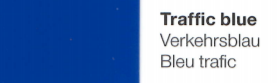 Vinylfolie Verkehrsblau - Mareve Design