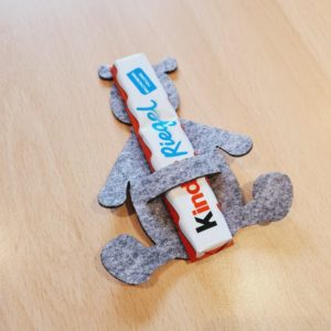 Filz Schokoladenhalter - Mareve Design