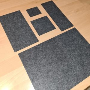 Filz - U-Heft-Mareve Design