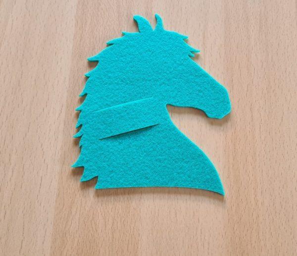 Filz - Schokoladenhalter - Pferd - Mareve Design