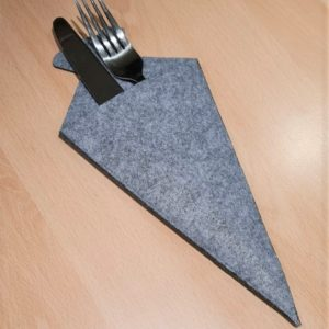 Filz - Bestecktasche - Zuckertüte - Mareve Design
