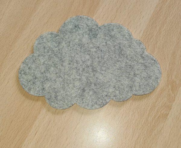 Filz - Untersetzer - Wolke - Mareve Design
