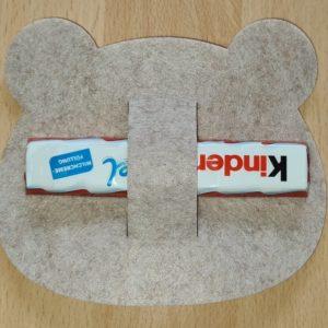 Filz - Schokoladenhalter - Teddy - Mareve Design