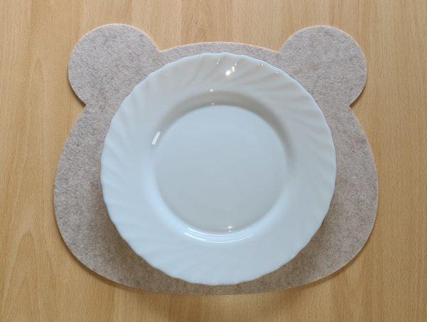 Filz - Platzdeckchen - Teddy - Mareve Design
