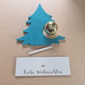 Aufsteller - Weihnachten - Mareve Design